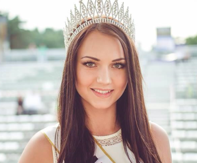 Justyna Galas – Miss Podlasia 2014.