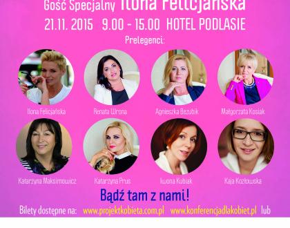 I Konferencja w Białymstoku - Coaching w rozwoju Kobiety