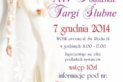XIV Podlaskie Targi Ślubne