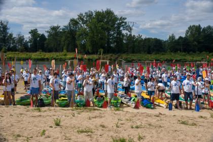 500 kajaków – największy spływ kajakowy na Podlasiu.