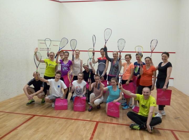 Pierwszy kobiecy Camp Squash – relacja.