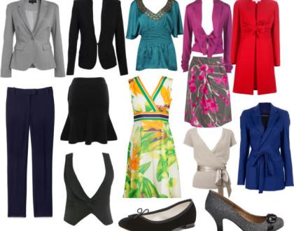 Kobiece sylwetki - H. Jak dobrać odpowiedni strój.