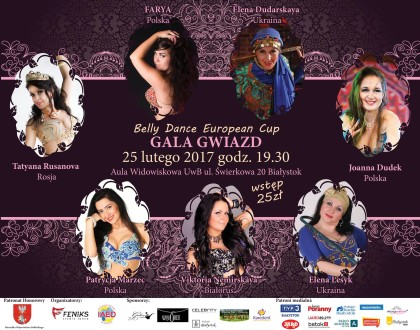 "Już w ten weekend zapraszamy na ""Belly Dance European Cup 2017"""