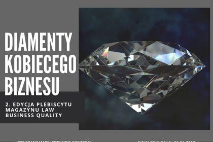Rusza kolejna edycja plebiscytu DIAMENT KOBIECEGO BIZNESU