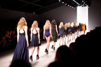 Pokaz młodych projektantów mody w Białymstoku