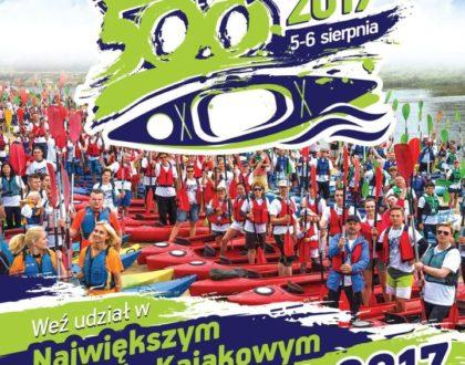 V edycja 500 kajaków – największy spływ kajakowy na Bugu, Podlasiu, w Polsce