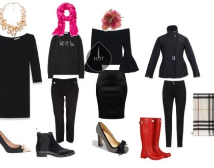 Jak nosić ubrania w czarnym kolorze