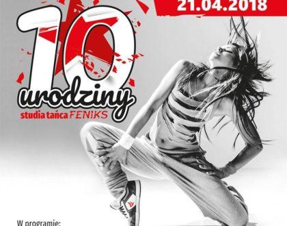 10 urodziny Studia Tańca Feniks