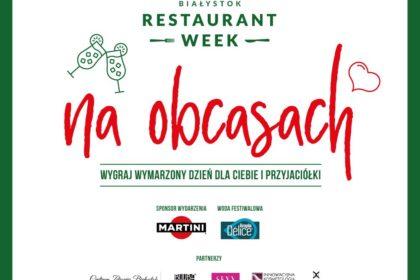 RESTAURANT WEEK NA OBCASACH - konkurs