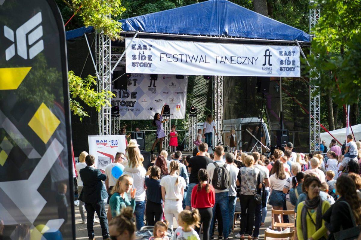 Taniec, muzyka i kolory zawładnęły Parkiem Zwierzynieckim za sprawą EAST SIDE STORY
