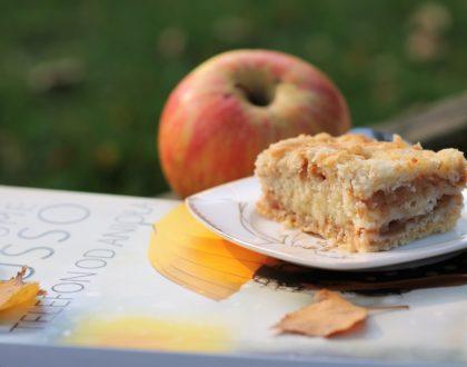 Ciasto w kilka minut – Szarlotka sypana