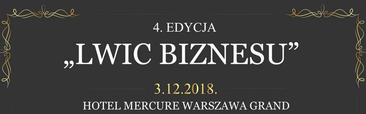 """""""POLSKIE LWICE BIZNESU 2018"""""""