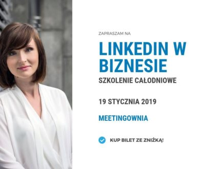 LinkedIn w biznesie - szkolenie Białystok