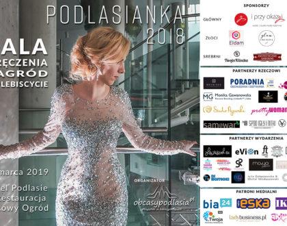 """Gala wręczenia statuetek w plebiscycie """"Podlasianka 2018"""""""