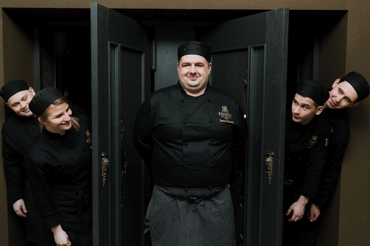 Gotujemy z szefem kuchni Restauracji Regiment - Tomaszem Siwkowskim