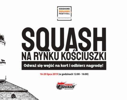 Krishome Squash Festival - HARMONOGRAM