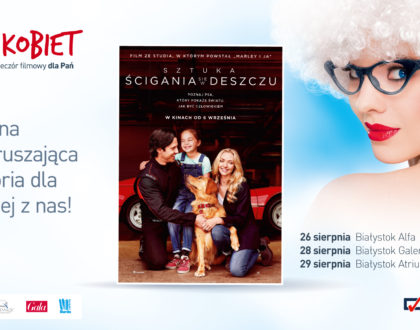 Sierpniowe Kino Kobiet - mamy dla Was wejściówki!