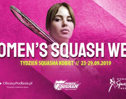 """Kobiecy Squash Camp + spotkanie z psychodietetykiem """"100kalorii"""""""