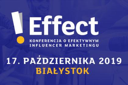 I Effect - konferencja o efektywnym influencer marketingu