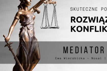 Ewa Wierzbicka - Nosal mediator sądowy