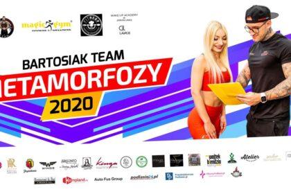 Metamorfozy 2020 Bartosiak Team - zapraszamy do udziału