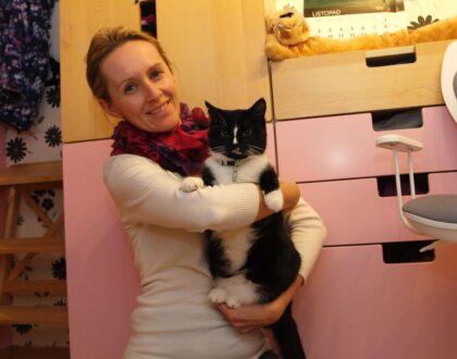 """""""Na kocią miłość trzeba sobie zasłużyć"""" Agata Kilon Kotkowo"""