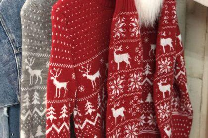 Święta w domowym wydaniu, czyli świąteczny fashionlook
